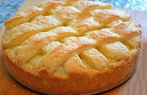 """""""Яблочный пирог с заварным кремом"""""""