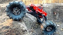 MASSIVE TIRES Toyota Body =s a MONSTER TRUCK! MOA in the Backyard Scale Park RC ADVENTURES