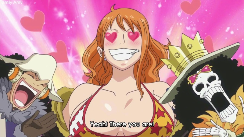 One piece - Sanji gain nami's body! The Funniest part! Hahaha!
