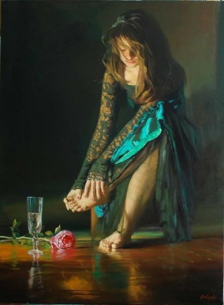 Одним из недооцененных обществом художников можно смело считать Ласло Гулиса (Laszlo Gulyas . Венгерский художник, родившийся в Будапеште в 1960-м году, о котором почти ничего не известно.