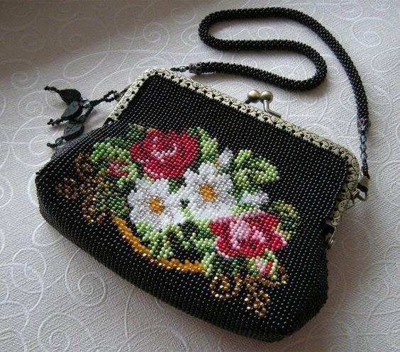 美丽的刺绣包包 - maomao - 我随心动