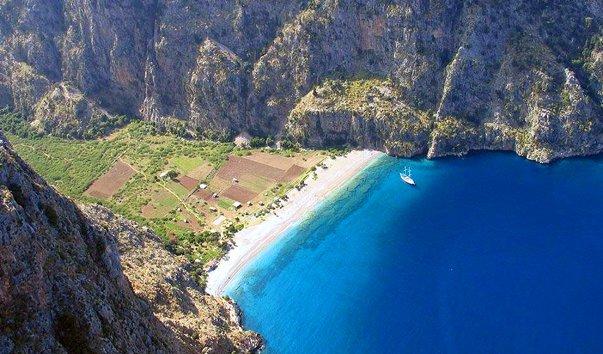 Долина Бабочек, Фетхие. Топ-5 лучших песчаных пляжей Турции