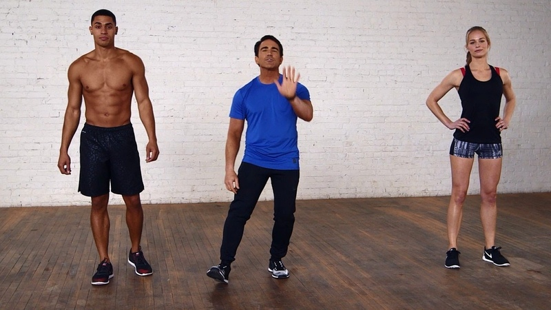 Bowflex - The Five-Minute Holiday Season HIIT Workout | Короткая ВИИТ-тренировка