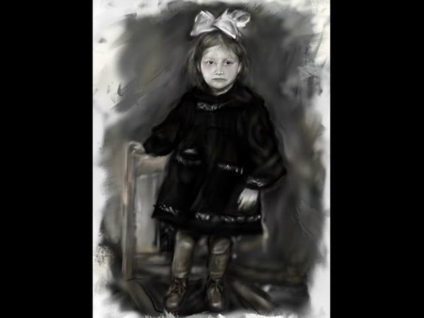 Девочка (Girl Speed Painting on the iPad using Procreate)