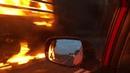 Фура сгорела на трассе Березники - Пермь