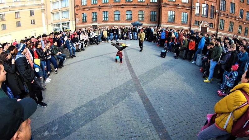 Санкт-Петербург - Детский уличный танец 4К