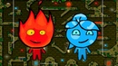 Приключение Огонь и Вода в Лесном Храме 3 Мультик игра для детей. Games for kids.