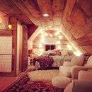 Уютный чердак - мечта каждого