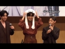 (181013) The Rose Fansign Hajoon doing aegyo and being totally adorable as ever omg