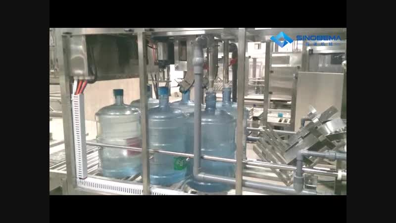 18.9 liters bottle washing filling capping machine.