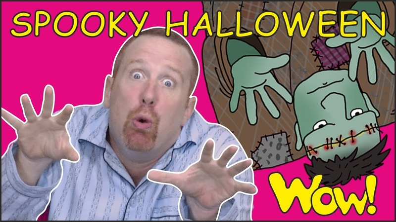 Halloween for Kids | Spooky Story for Children from Steve and Maggie | Free Speaking Wow English TV