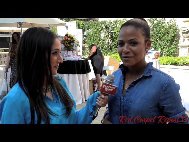 Christina Milian at Bellafortuna Luxury Awards Gifting Suite at the Montage Emmys @ChristinaMilian