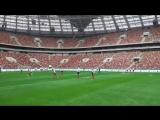 Тренировка сборной России в Лужниках