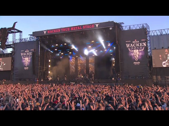 Sabaton - Primo Victoria (Live At Wacken Open Air 2013) (Bluray/HD]