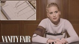 Jennifer Lawrence Takes a Lie Detector Test Vanity Fair