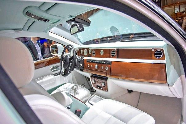 Автоновости!!!На проходящий в Женеве автосалон привезли Rolls-Royce P