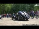 Ralph Lauren $40mln Bugatti Type 57 SC Atlantic - 3x Start Up Drive Scene!!