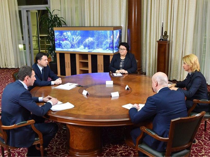 Встреча с Ириной Влах, главой автономии Гагаузия Республики Молдова, по случаю визита делегации в Россию. На межрегиональном уровне у нас сложились добрые традиции культурного и торгового сотрудничества, которые мы обязательно будем развивать