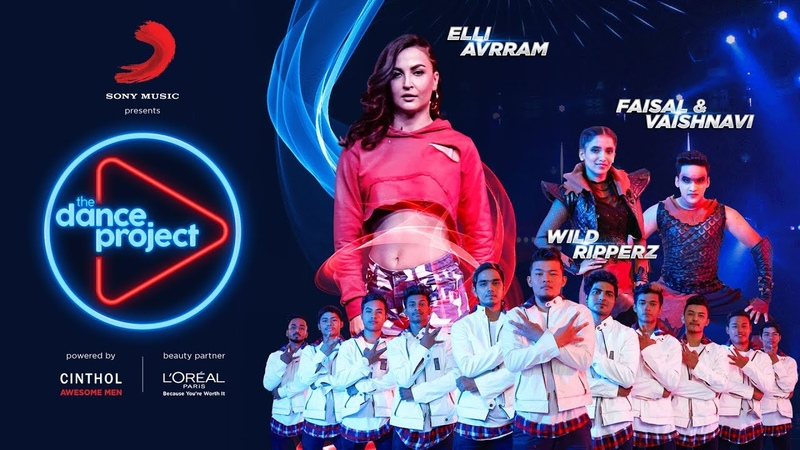 Ep-1 The Dance Project - Elli AvrRam | Faisal -Vaishnavi | Wild Ripperz | Buzz | Let's Nacho | Zinda