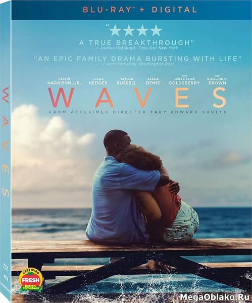Волны / Waves (2019/BDRip/HDRip)