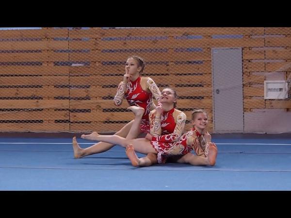 Спортивная акробатика. Чемпионат и первенство СЗФО 8-10.01.2018. 10 января