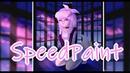 Babygirl Timelapse Speedpaint by Ann Vee