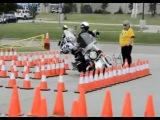Соревнования копов на мотоциклах - Авто - Приколы - bigmir)net