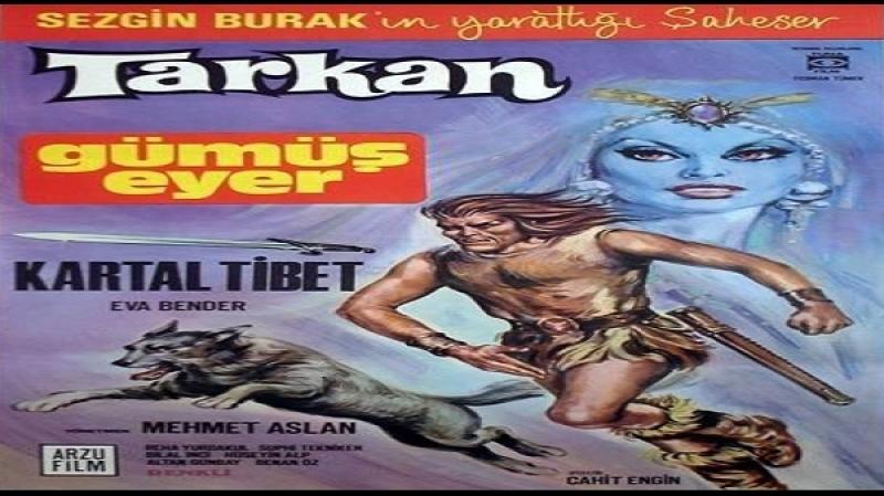 Tarkan Gümüş Eyer - Mehmet Aslan 1970 Kartal Tibet, Eva Bender, Bilal Inci