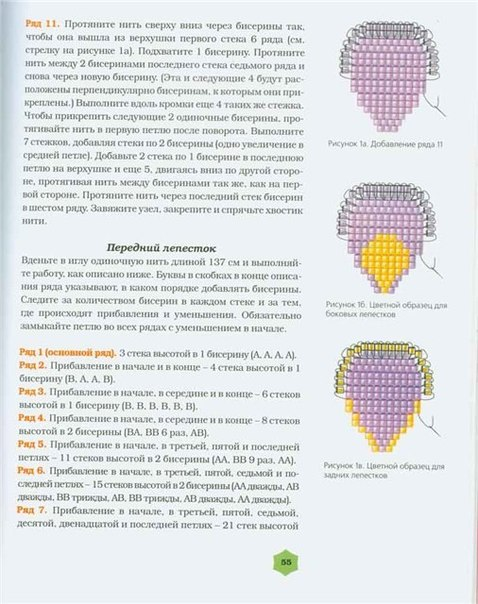 Мастер класс по шикарным анютиным глазкам из бисера. wpid H gcdkhSCNE Мастер класс по шикарным анютиным глазкам из...