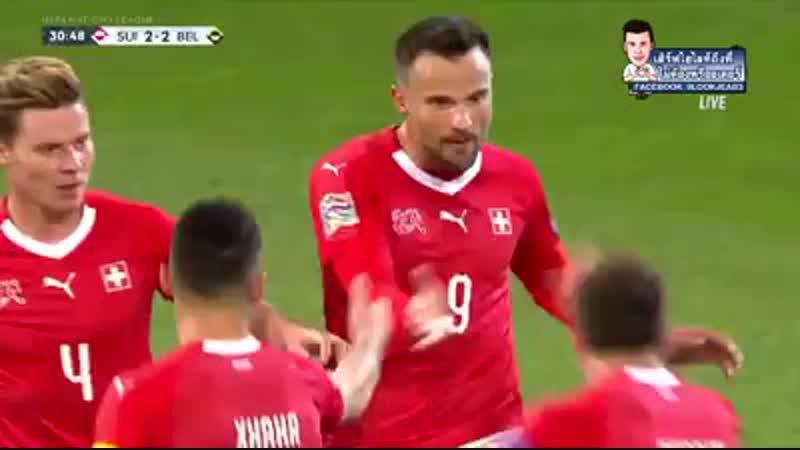 ไฮไลท์ประตู สวิตเซอร์แลนด์ vs เบลเยียม