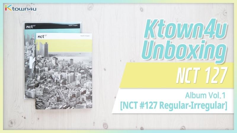 [Ktown4u Unboxing] NCT127 - The 1st Album [regular-irregular] 엔시티 127 언박싱