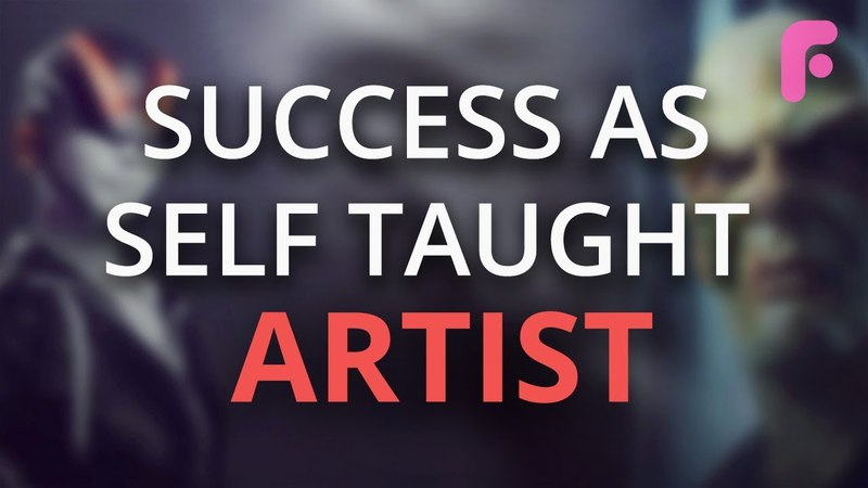Being Successful as a Self-Taught Artist