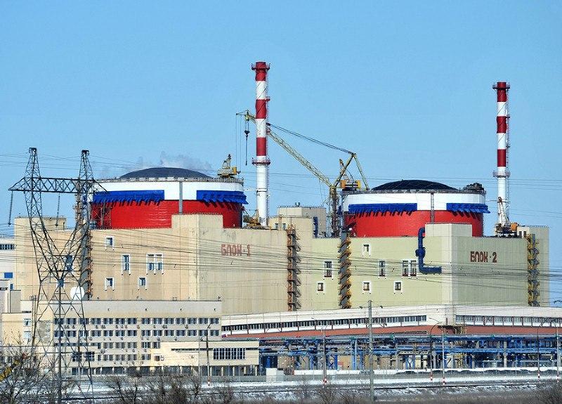 Два энергоблока Ростовской АЭС отключены от сети из-за срабатывания системы защиты