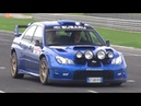Street Legal Subaru Impreza S12 WRC Replica in Action on Track RAW Boxer Sound