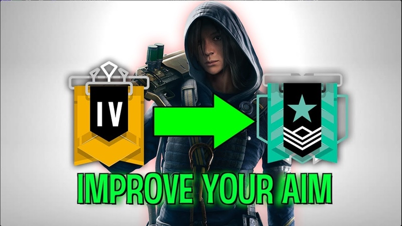 How To INSTANTLY IMPROVE YOUR AIM in Rainbow Six Siege || Improve Your Game
