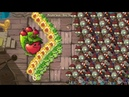 Apple Mortar and Wasabi Whip Plants vs Zombies 2 hack