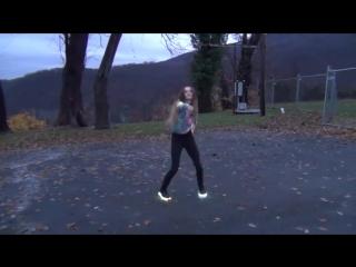 Girls dance LED shoes