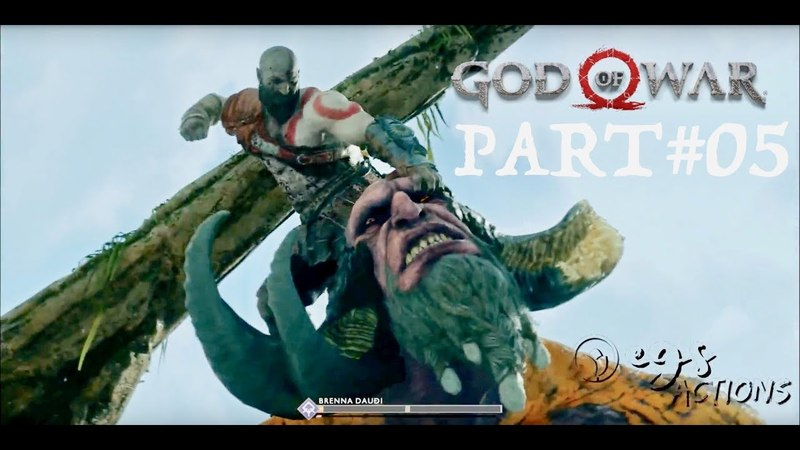 GOD OF WAR 4 Gameplay Walkthrough Part-05 [1080p HD 60FPS PS4 PRO]