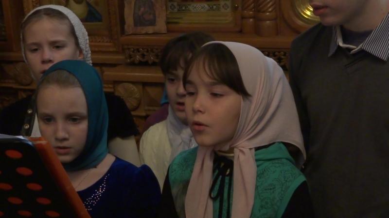 Служба в храме свт. Игнатия Мариупольского