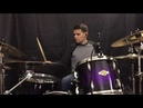 Red Gone drum cover