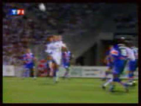 Olympique de Marseille retro OM Montpellier 98 99 2e mi temps la revolte gros moment de football