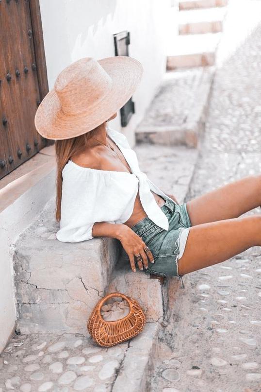 Модные образы на лето