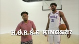 FUNNIEST Game Of H.O.R.S.E Vs JOEL EMBIID! MUST WATCH !!