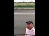 Водитель грузовика прикинулся исландским болельщиком и попробовал разыграть поли Тупой Подкат