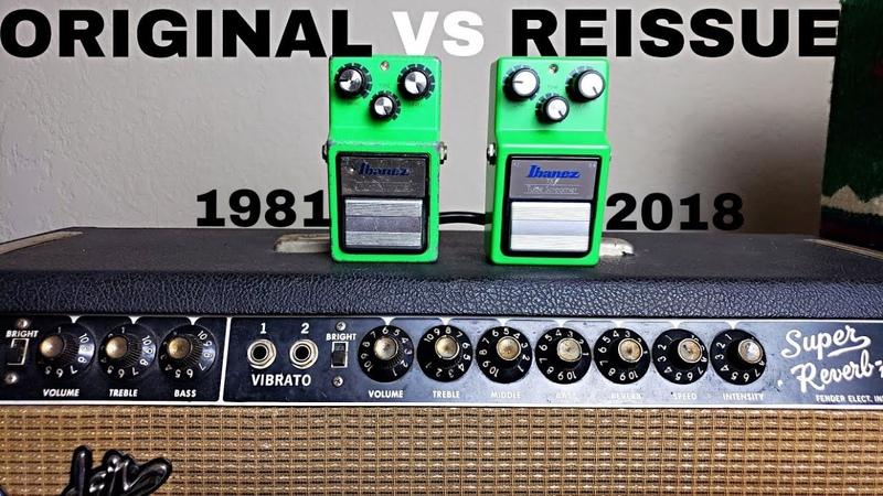 Is Vintage Better? 1981 vs Reissue TS9 Tube Screamer Pedal