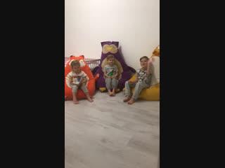 Обзор пуфиков из детской комнаты!