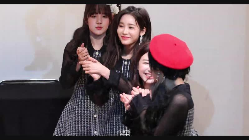 [4K] 190126 버스터즈(Busters) 채연(ChaeYeon) - 포도포도해 @ LAST FESTIVAL 팬싸인회 직캠(Fancam) by 04년12월04일