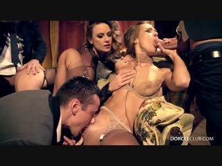 Claire castel and alexis crystal - orgy at the castel [all sex, hardcore, blowjob, anal]