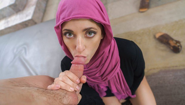 TeamSkeet - Horny Hijab Girl Unveils Her Asshole
