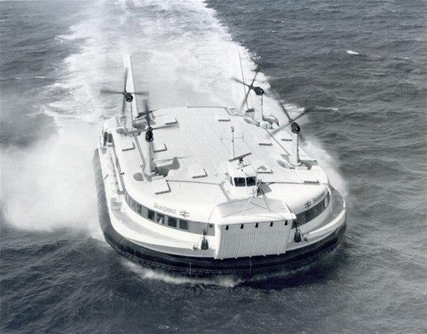 SR.N4 - самое большое в мире судно на воздушной подушке